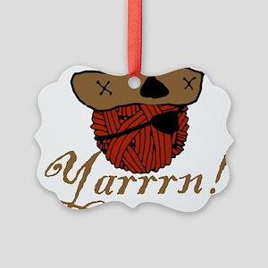 yarrrn Picture Ornament