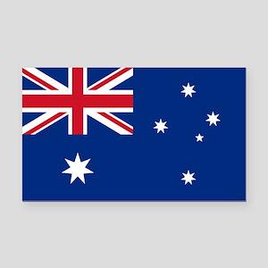 australia_s Rectangle Car Magnet