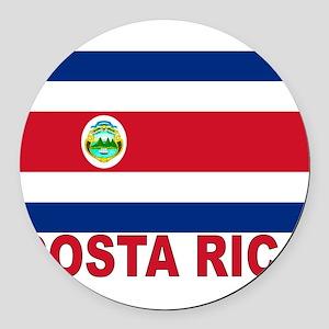costa-rica_s Round Car Magnet