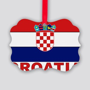 croatia_b Picture Ornament