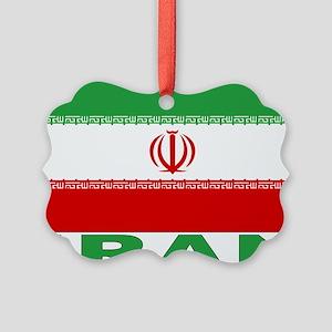 iran_b Picture Ornament
