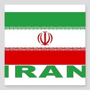 "iran_b Square Car Magnet 3"" x 3"""