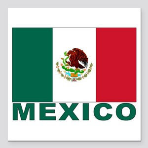 "mexico_s Square Car Magnet 3"" x 3"""