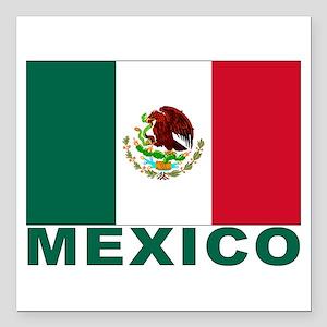 "mexico_s Square Car Magnet 3"" x 3"""