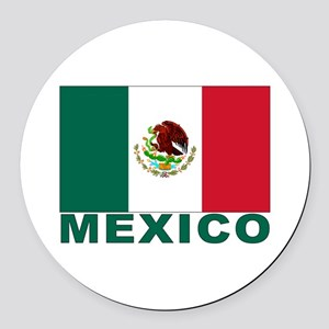 mexico_s Round Car Magnet