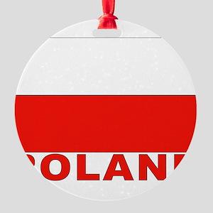 poland_b Round Ornament