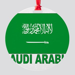 saudi-arabia_b Round Ornament