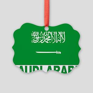 saudi-arabia_b Picture Ornament