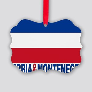 serbia-and-montenegro_b Picture Ornament