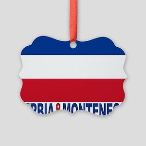 serbia-and-montenegro_b Picture Ornament