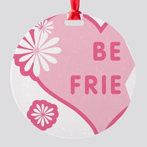 best-friends-pink-new_l Round Ornament