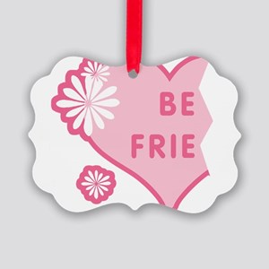 best-friends-pink-new_l Picture Ornament