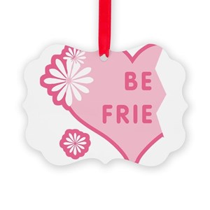 best friend ornaments cafepress - Best Friend Christmas Ornaments