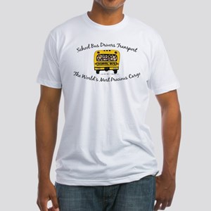 School Bus Drivers Fitted T-Shirt