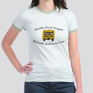 School Bus Drivers Jr. Ringer T-Shirt