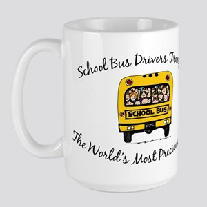 School Bus Drivers Large Mug