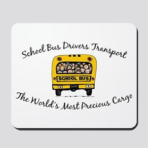 School Bus Drivers Mousepad