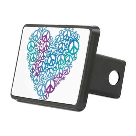 peace-heart.png Rectangular Hitch Cover