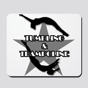 Tumbling and trampoline Mousepad
