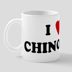 I Love CHINO Mug