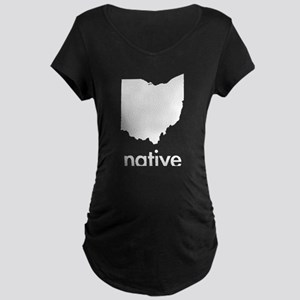 OHnative Maternity Dark T-Shirt