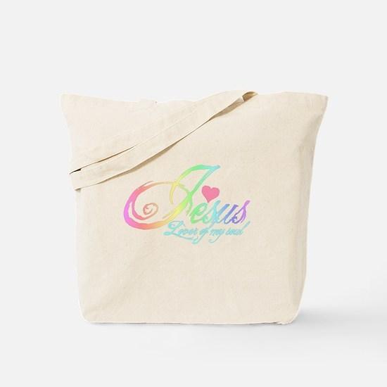 Jesusloverofmysoul.png Tote Bag
