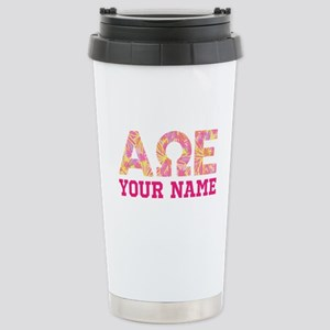 Alpha Omega Epsil 16 oz Stainless Steel Travel Mug
