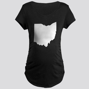 Ohio Maternity Dark T-Shirt