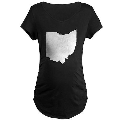 Ohio Maternity Dark T-Shirt