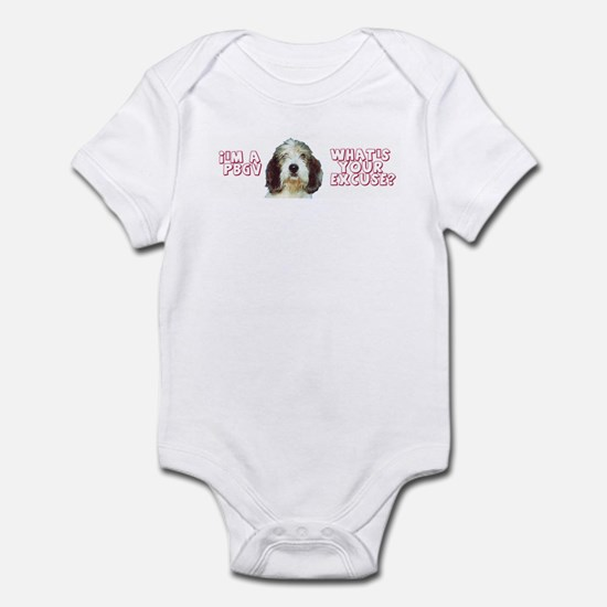 PBGV excuse Infant Creeper