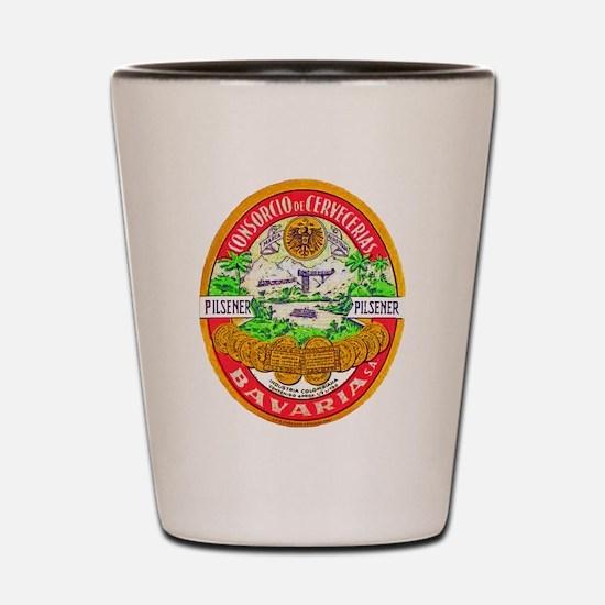 Columbia Beer Label 1 Shot Glass