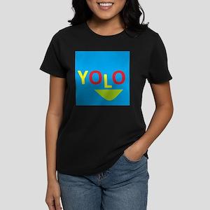 Yolo SMILE Women's Dark T-Shirt