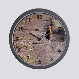 Roosting Home Wall Clock