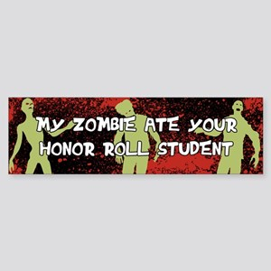 Zombie Sticker (Bumper)