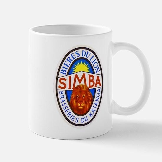 Congo Beer Label 4 Mug