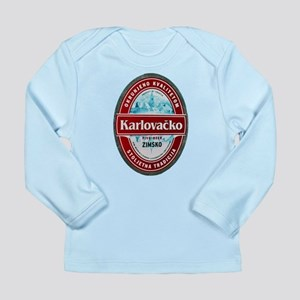Croatia Beer Label 1 Long Sleeve Infant T-Shirt