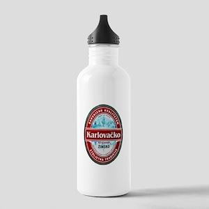 Croatia Beer Label 1 Stainless Water Bottle 1.0L