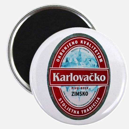 Croatia Beer Label 1 Magnet