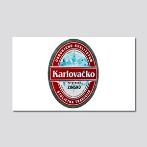 Croatia Beer Label 1 Car Magnet 20 x 12