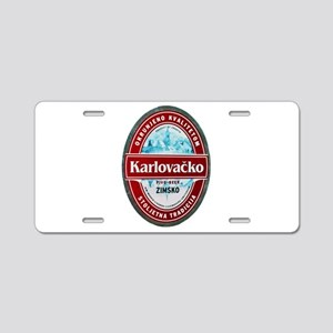 Croatia Beer Label 1 Aluminum License Plate