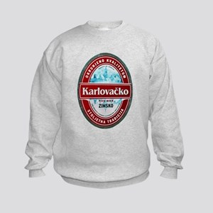 Croatia Beer Label 1 Kids Sweatshirt