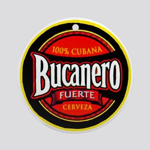 Cuba Beer Label 5 Ornament (Round)