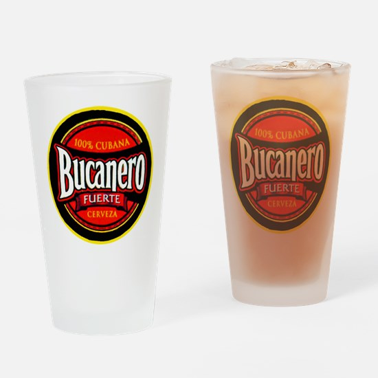 Cuba Beer Label 5 Drinking Glass