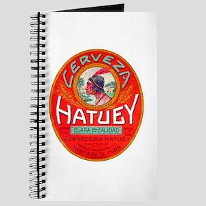 Cuba Beer Label 1 Journal