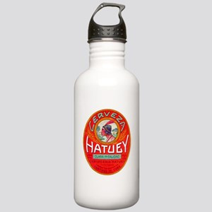 Cuba Beer Label 1 Stainless Water Bottle 1.0L