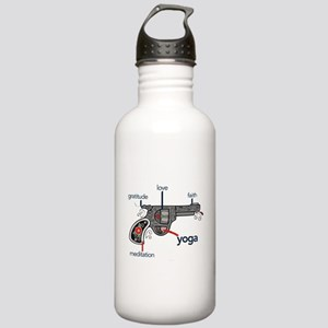 The Yoga Gun Stainless Water Bottle 1.0L
