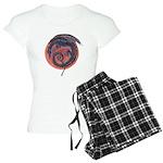 Black Dragon Women's Light Pajamas