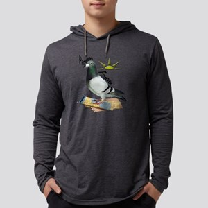 Pigeon Fancier Mens Hooded Shirt