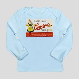 Czech Beer Label 8 Long Sleeve Infant T-Shirt