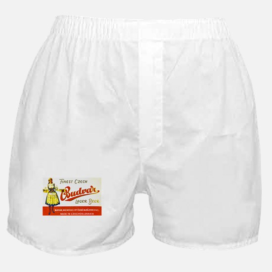 Czech Beer Label 8 Boxer Shorts